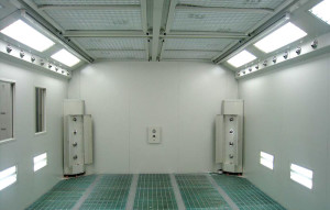 paint booth for wencl